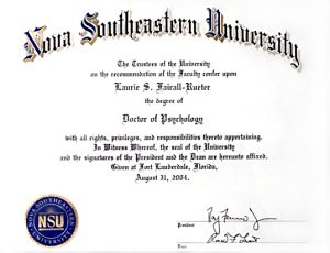 Dr. Laurie Doctor of Psychology